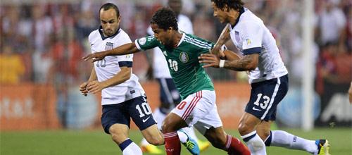 Международные товарищеские игры: США - Мексика