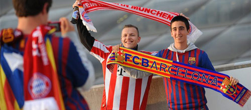 Лига Чемпионов УЕФА, 1/2 финала: Бавария - Барселона