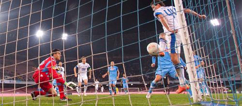 Лига Европы УЕФА: Наполи - Днепр