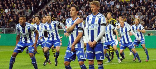 Швеция, Высшая лига: Хальмстад - Гётеборг