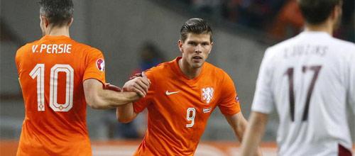 Чемпионат Европы 2016, квалификация: Латвия - Голландия