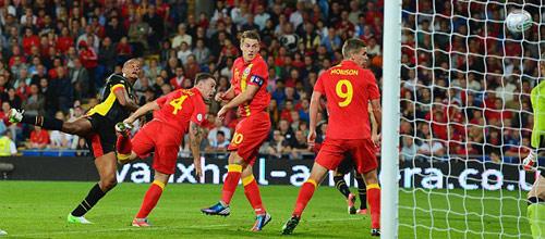 Евро 2016, отборочные матчи: Уэльс - Бельгия