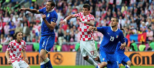Евро 2016, отборочные матчи: Хорватия - Италия