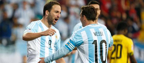 Копа Америка: Аргентина - Парагвай