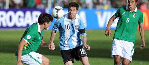 Международные товарищеские матчи: Аргентина - Боливия