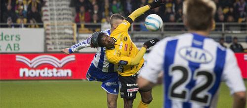 Швеция, Высшая лига: Гётеборг - Эльфсборг