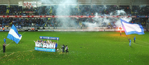 Чемпионат Норвегии: Мольде - Хёгесунн