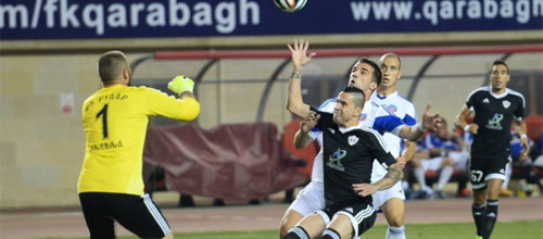 Лига Чемпионов, квалификация: Рудар - Карабах