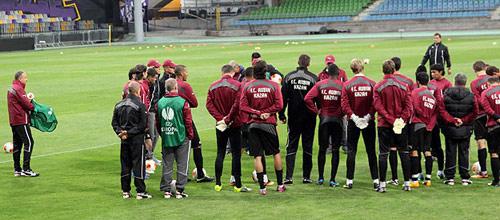 Лига Европы: Штурм - Рубин