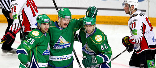 Чемпионат КХЛ: Авангард - Салават Юлаев