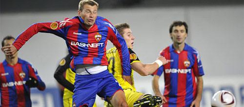 Лига Чемпионов, квалификация: Спарта Прага - ЦСКА Москва