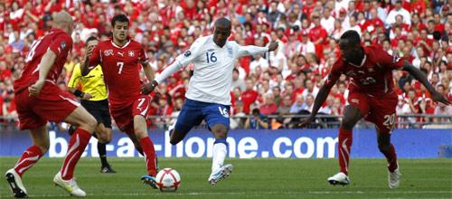 Чемпионат Европы, квалификация: Англия - Швейцария