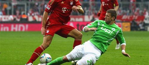 Чемпионат Германии: Бавария - Вольфсбург