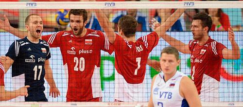 Кубок Мира, мужчины: Польша - Россия