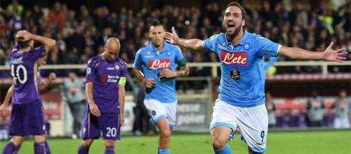 Чемпионат Италии: Наполи - Фиорентина