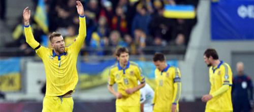 Чемпионат Европы 2016, квалификация: Словения - Украина