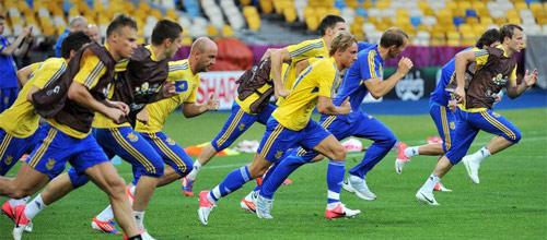 Чемпионат Европы 2016, квалификация: Украина - Словения