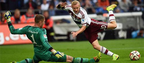 Чемпионат Германии: Шальке - Бавария Мюнхен