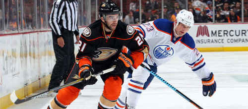 Чемпионат НХЛ: Анахайм - Эдмонтон