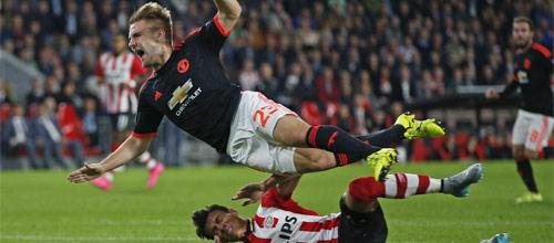 Лига Чемпионов: Манчестер Юнайтед - ПСВ