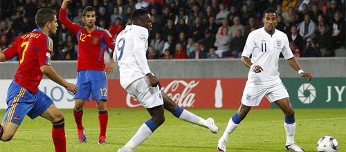 Сборные, товарищеские матчи: Испания - Англия