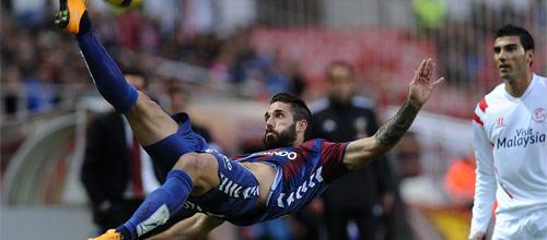 Чемпионат Испании: Эйбар - Спортинг Хихон