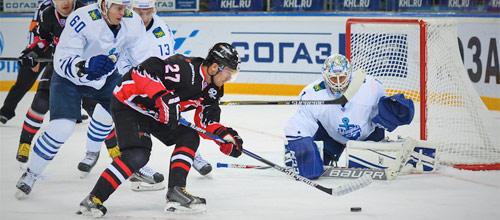 Чемпионат КХЛ: Адмирал Владивосток - Авангард Омск