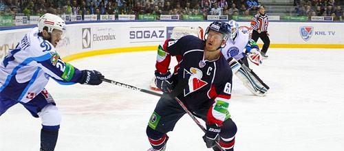 Чемпионат КХЛ: Слован - Динамо Минск