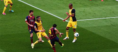 Чемпионат Испании: Барселона - Атлетико Мадрид