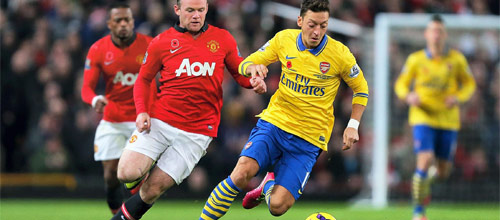 Англия, Премьер-лига: Манчестер Юнайтед - Арсенал