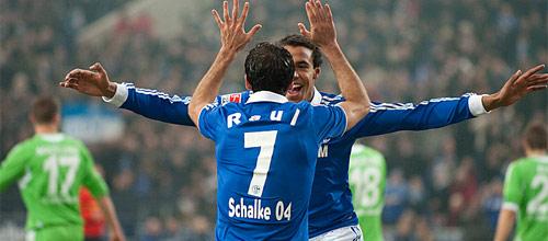 Чемпионат Германии: Шальке 04 - Вольфсбург