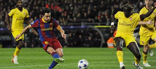 Лига Чемпионов: Арсенал - Барселона
