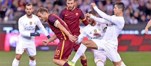 Лига Чемпионов УЕФА: Рома - Реал Мадрид