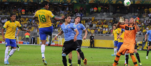 Чемпионат мира 2018, квалификация: Бразилия - Уругвай