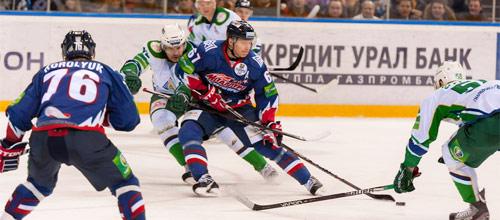 КХЛ, плей-офф: Металлург Магнитогорск - Салават Юлаев