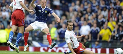 Международные товарищеские матчи: Чехия - Шотландия
