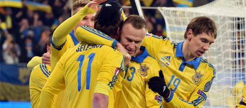 Международные товарищеские матчи: Украина - Уэльс