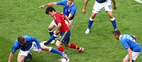 Сборные, Товарищеские матчи: Италия - Испания
