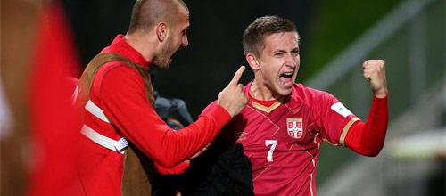 Сборные, Товарищеские матчи: Польша - Сербия