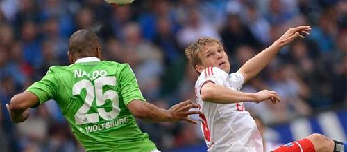 Чемпионат Германии: Гамбург - Вольфсбург