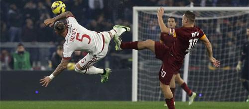 Чемпионат Италии: Милан - Рома