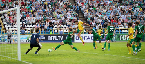 РФПЛ, стыковые матчи: Кубань - Томь