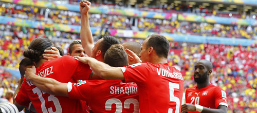Товарищеские матчи: Швейцария - Бельгия