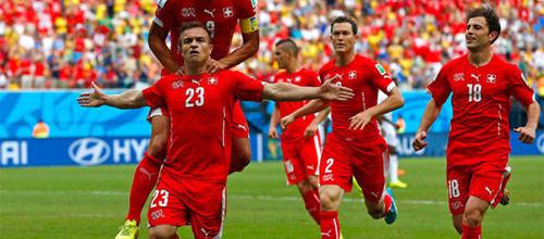 Чемпионат Европы 2016: Албания - Швейцария