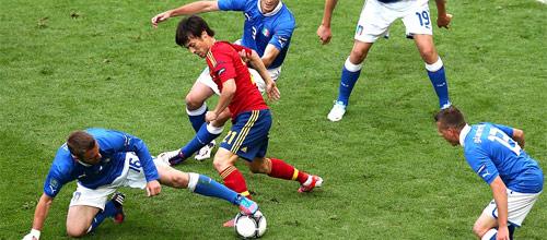 Чемпионат Европы 2016: Италия - Испания