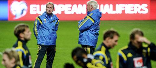 Чемпионат Европы 2016: Швеция - Бельгия