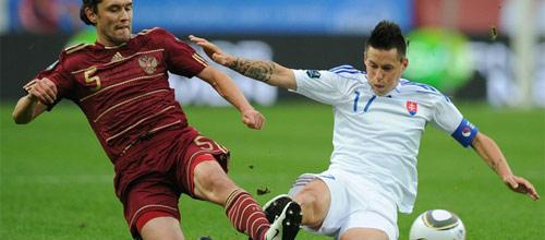 Евро 2016: Россия - Словакия