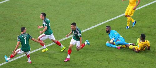 Кубок Америки: Мексика - Чили