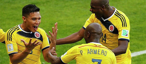 Кубок Америки: Перу - Колумбия