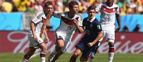 Евро 2016: Германия - Франция